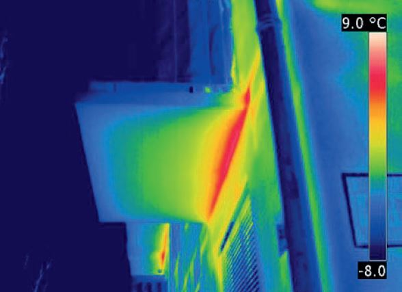 termokamera brez